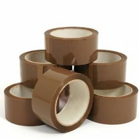 Brown Tape 6pk