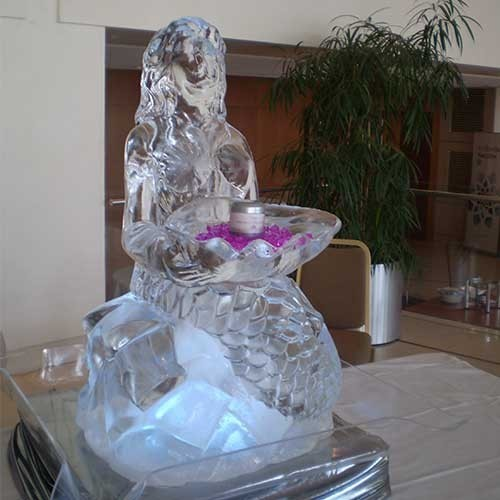 The Mermaid Ice Sculpture