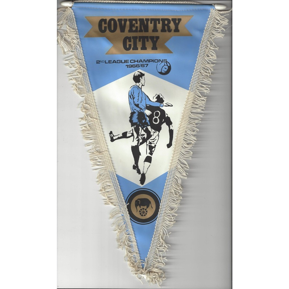 Coventry City 1960's Vintage Football Pennant