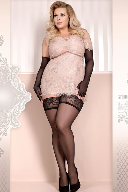 Ballerina 363 Hold Ups Black