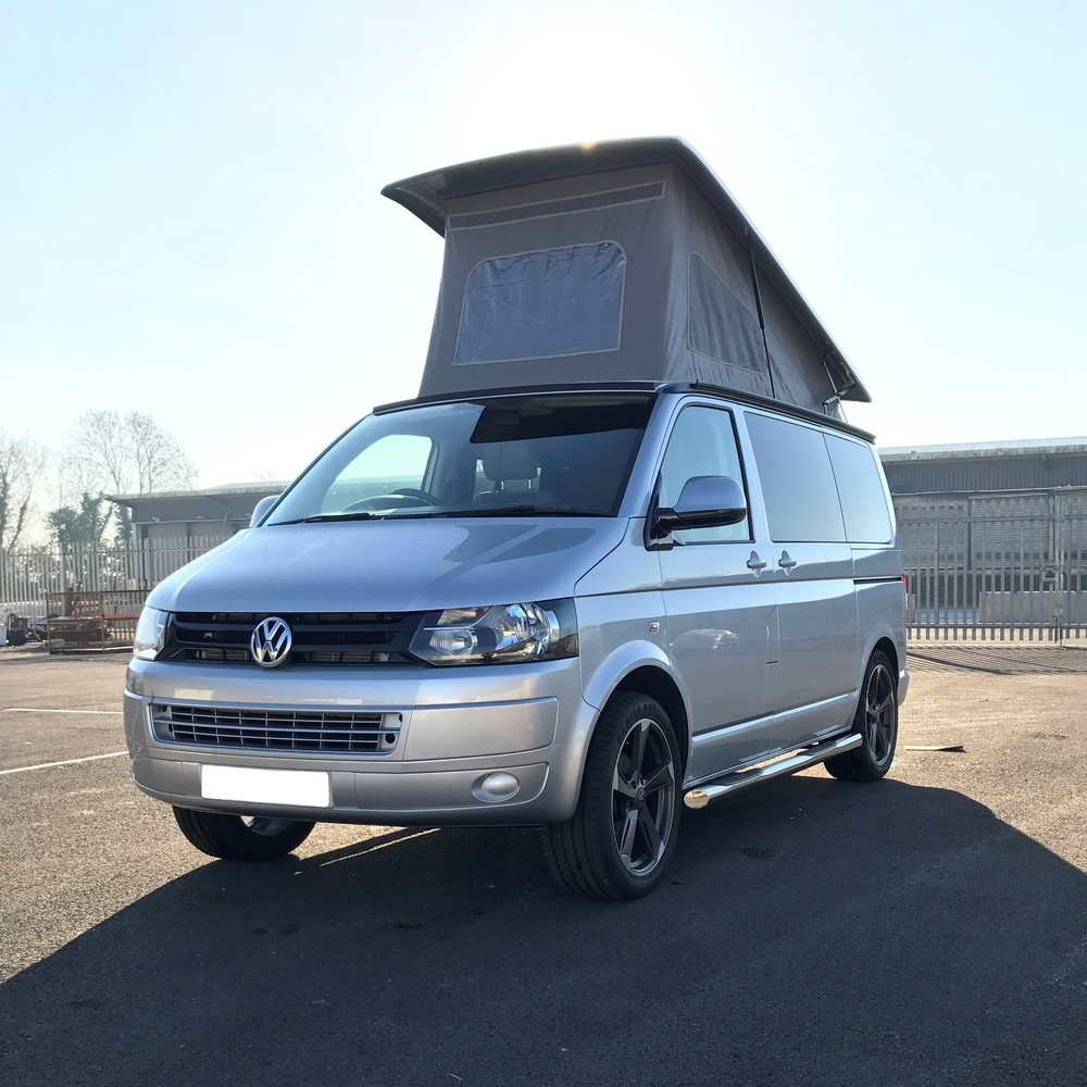 Volkswagen T5 Silver Camper - SOLD