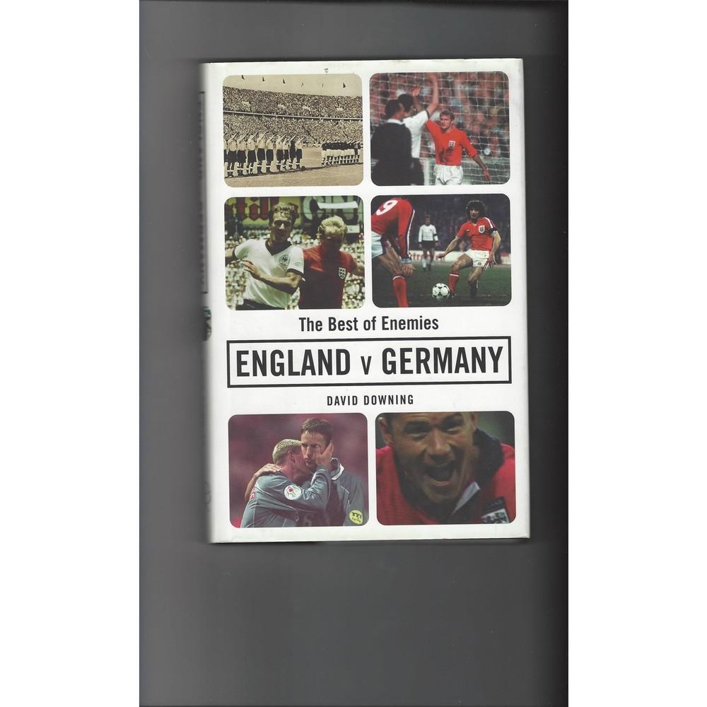 Best of Enemies England v Germany 2000 Hardback Edition Football Book