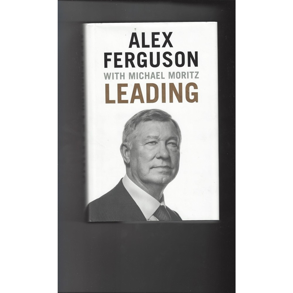 Alex Ferguson Leading 2015 Hardback Edition Football Book