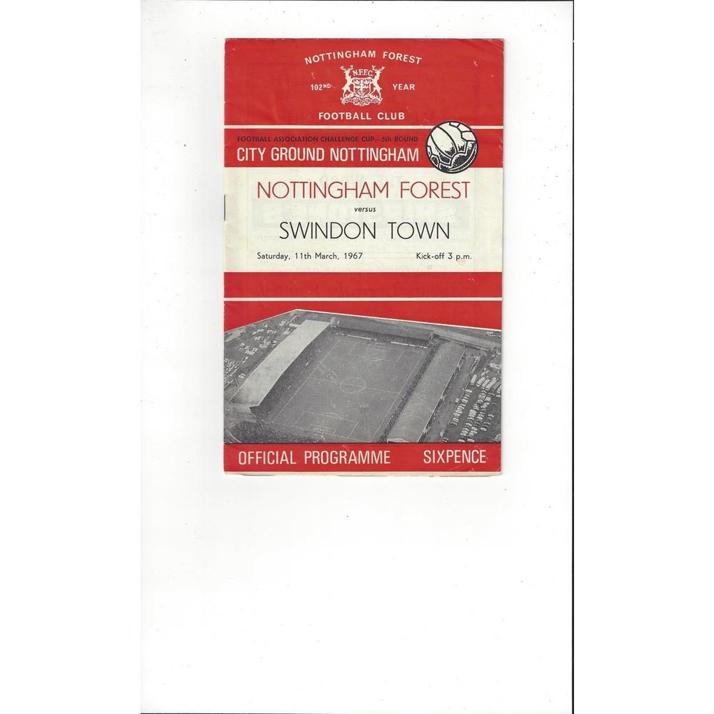 Swindon Town Football Programmes