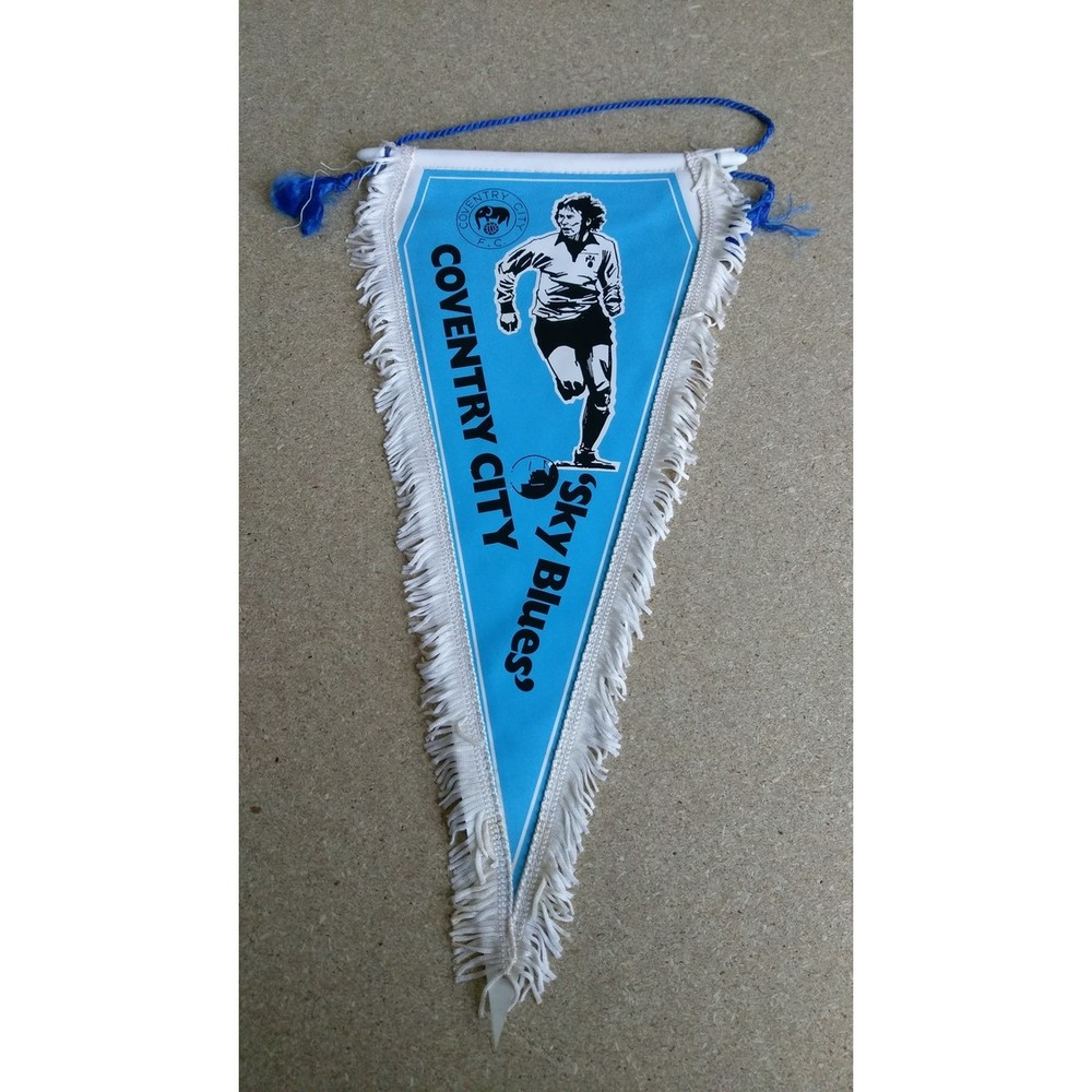 Coventry City Vintage Football Pennant