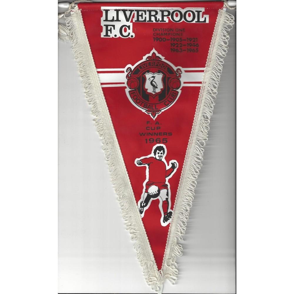 Liverpool 1960's Vintage Football Pennant