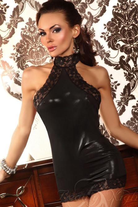 Beauty Night, Vivianne Mini Dress, Black