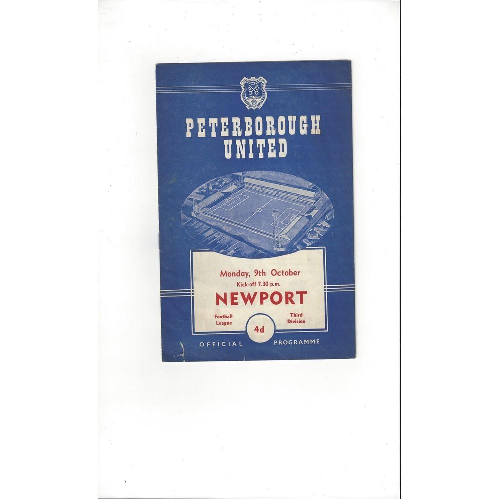 Newport Football Programmes