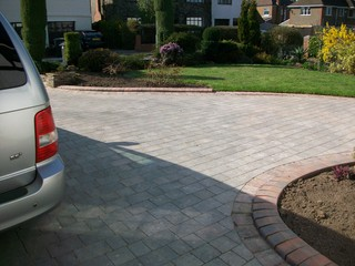 New Front Garden & Drive