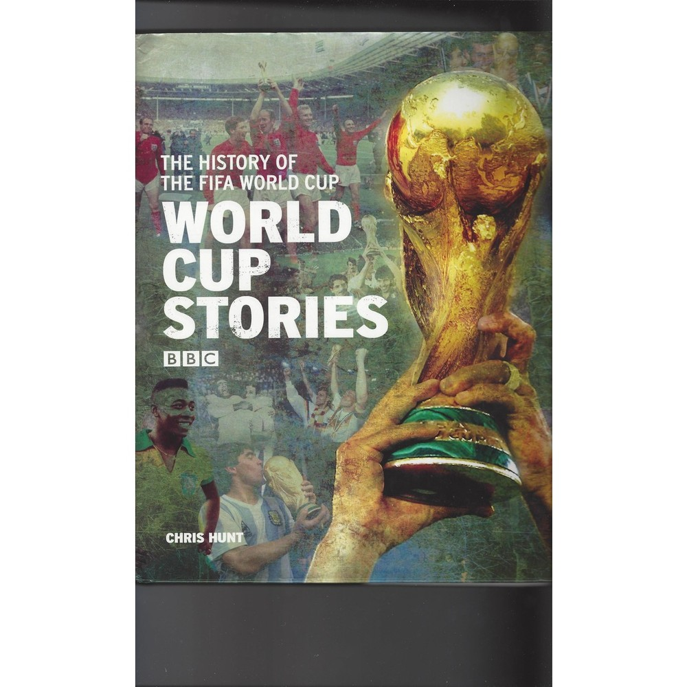 2006 World Cup Stories by Chris Hunt Hardback Edition Football Book