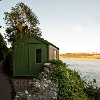 The writing Shed Laugharne