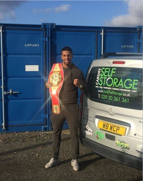 Cardiff Self Storage Sponsor British Boxing Contender Craig Kennedy