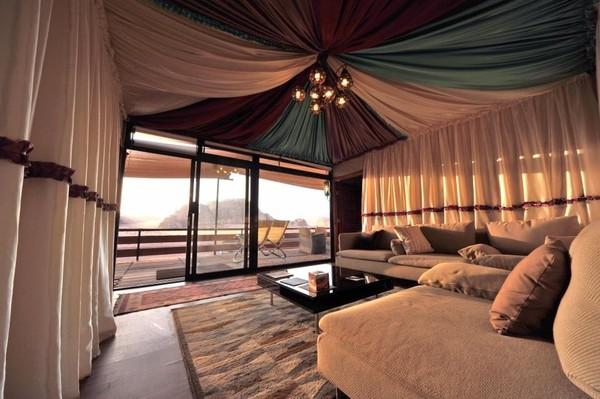 Bedouin Camping in the Desert