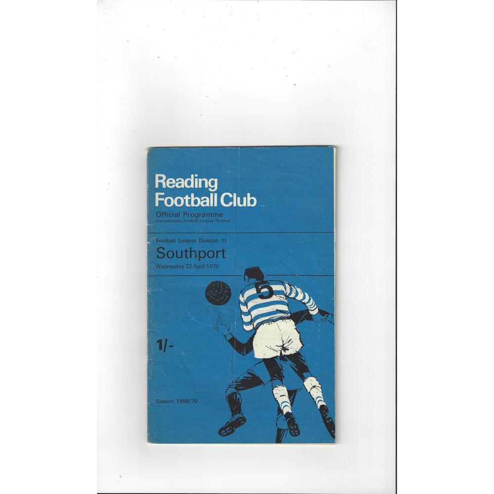 Reading Home Football Programmes