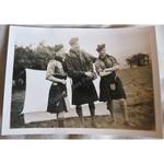 Cefn Onn Scout Camp 1939 Original Photo  Alf, Mac and Adams