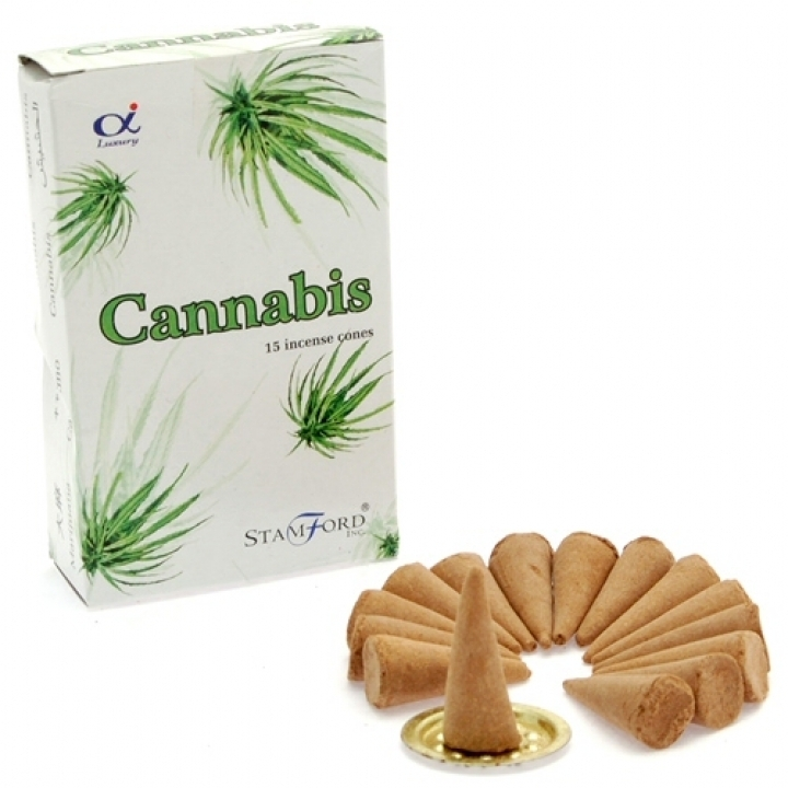 Cannabis Incense Cones