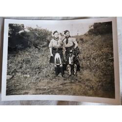 Cefn Onn Scout Camp 1939 Original Photo DWSE and Alf