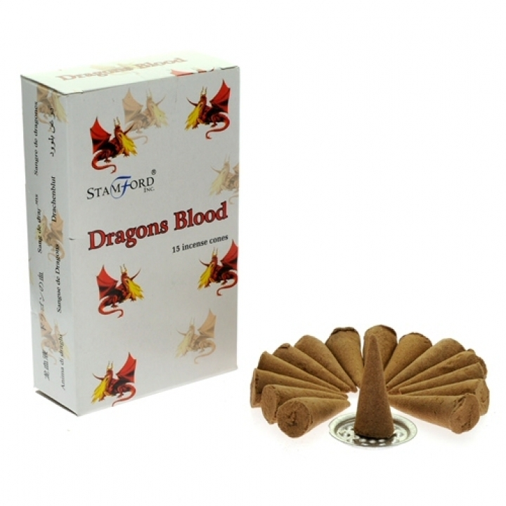 Dragons Blood Incense Cones