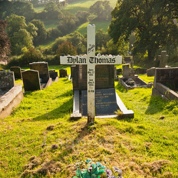 Grave of Dylan Thomas Laugharne