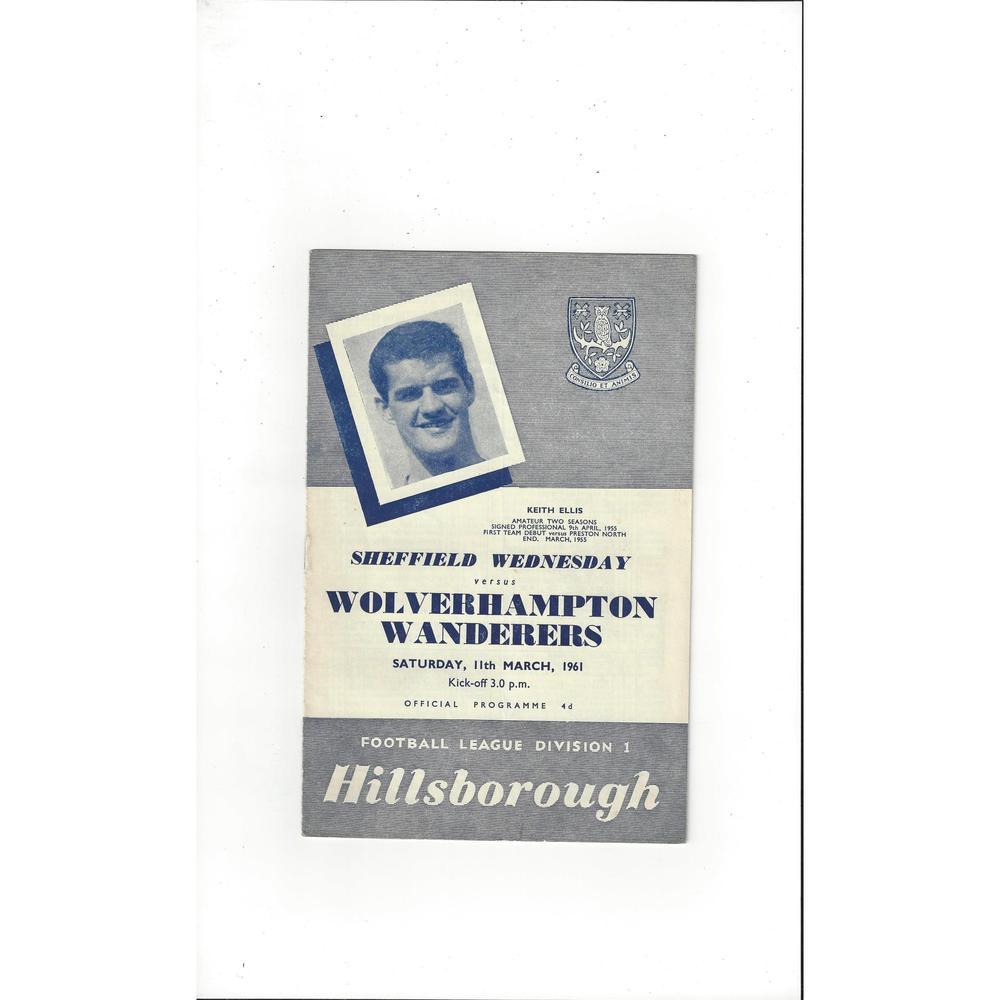 Sheffield Wednesday v Wolves 1960/61