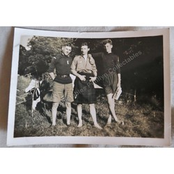 Miskin Scout Camp 1939 Original Photo Alf & Mervyn Phelps
