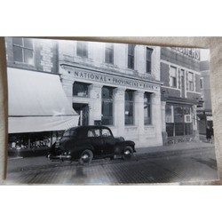 National Provincial Bank Barry Docks 1930s (?) Original Photo