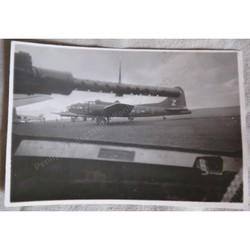 USAF Flying Fortresses St Mawgan 1944 Original Photo