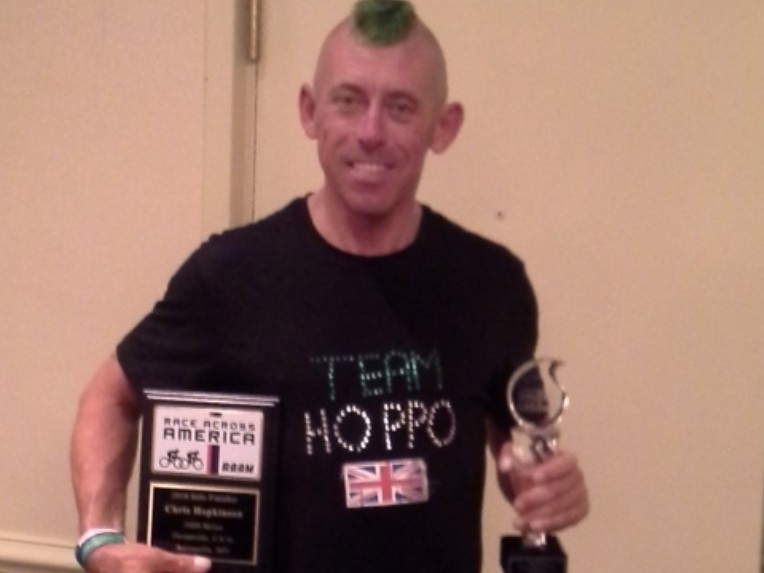 Chris Hopkinson - Multiple Ultra Marathon Cycling World Champion