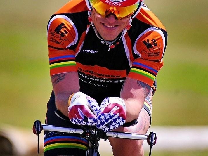 Chris Hopkinson - Multiple Ultra Marathon Cycling World Champion