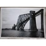 Forth Bridge 1950 Original Photo