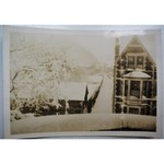 Original Photo 1940 Home Front Cardiff; Windows Taped Air Raid Precautions