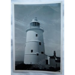 St Agnes Lighthouse Scilly Isles 1951 photo