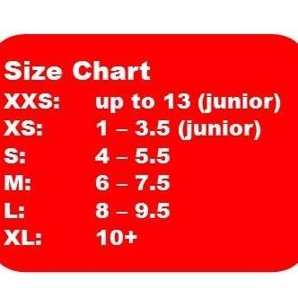 MALE - SHOE SIZES 4.5+