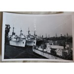 Royal Navy Reserve Fleet Ships Photo c 1952 (Cardiff/Penarth?)