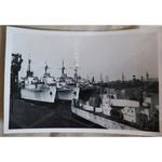 Royal Navy Reserve Fleet Ships Photo c 1952 (Cardiff/Penarth?)