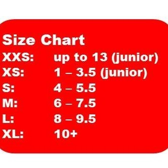 MALE - SHOE SIZES UP TO 4
