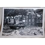 Lynmouth Flood Damage 1952  Temporary Bridge Original Photo