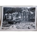 Lynmouth Flood Damage 1952  Temporary Bridge Original Photo