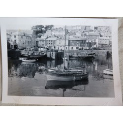 Mevagissey 1952 Original Photo