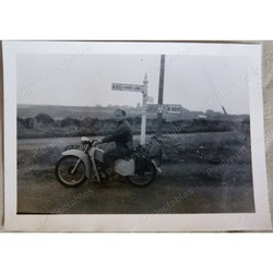 Motorbike ONN 960 Original 1952 Photo