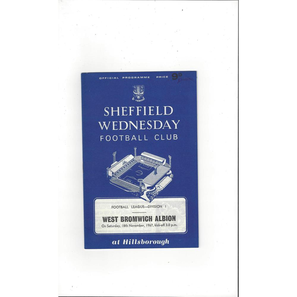 West Bromwich Albion Away Football Programmes