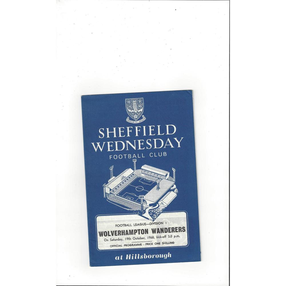 Sheffield Wednesday v Wolves 1968/69