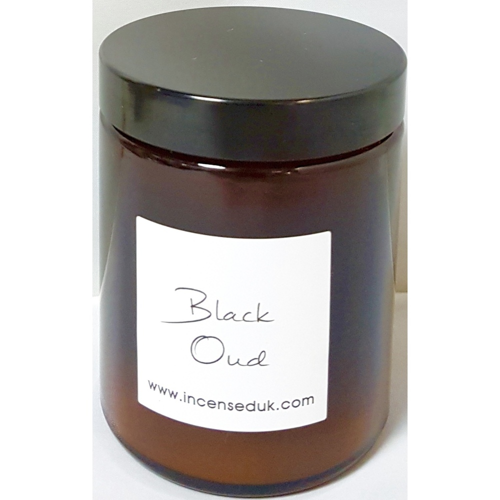 Black Oud Scented Candle