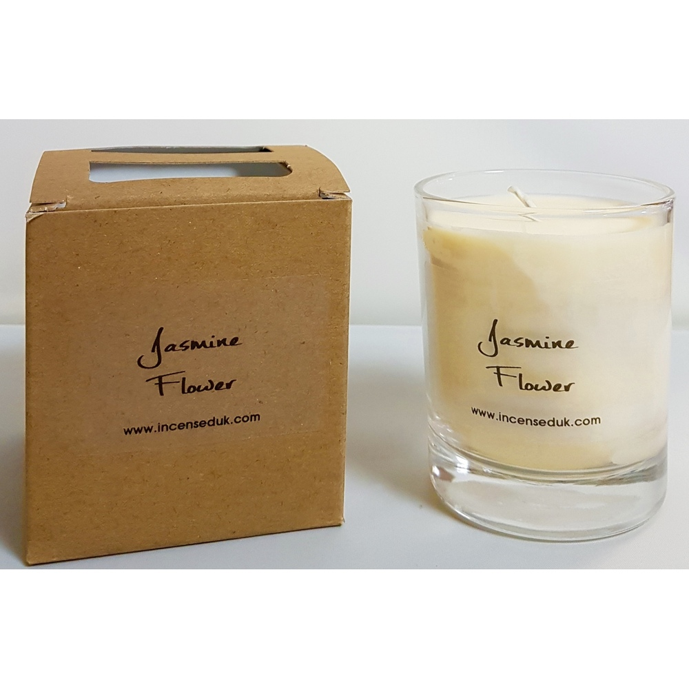 Jasmine Flower Scented Candle