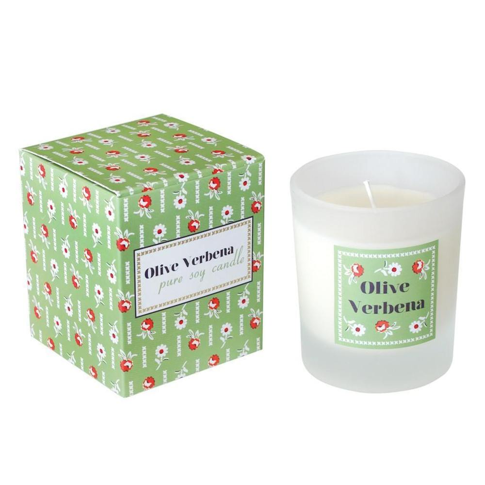 Olive Verbena Soy Candle