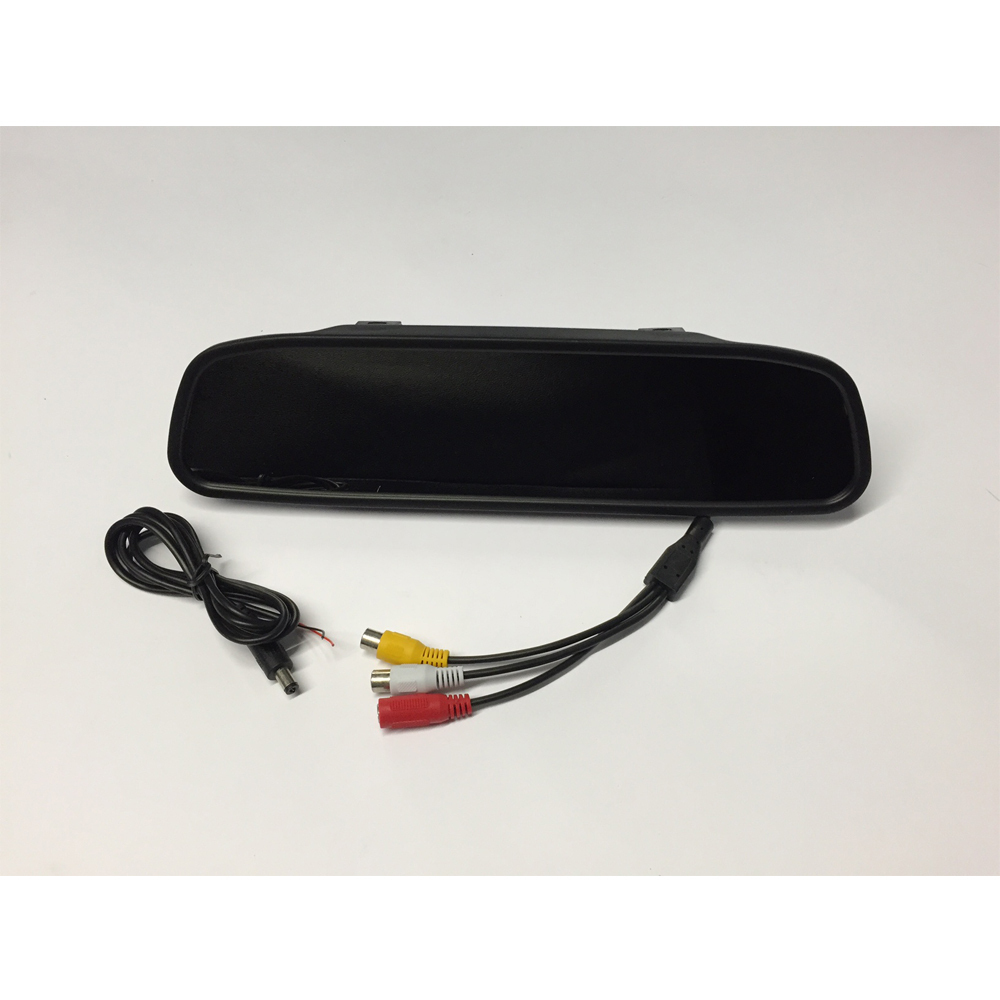 4.3'' TFT LCD REAR VIEW MIRROR MONITOR & Flush Mount Camera PM700