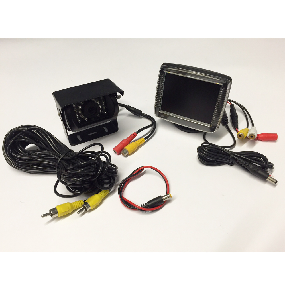 3.5'' TFT Monitor & Roof Mounted Camera PM970