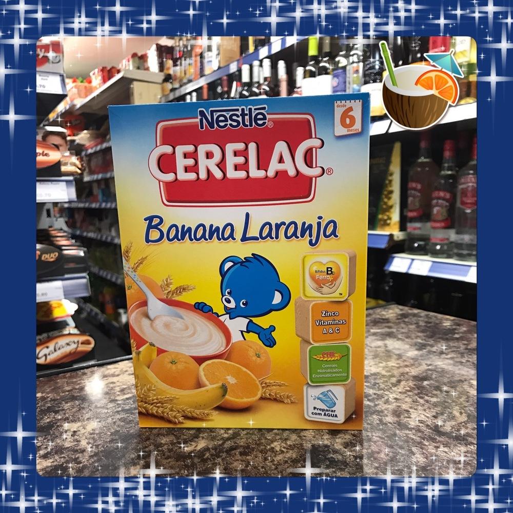 Cerelac Banana Laranja 250g