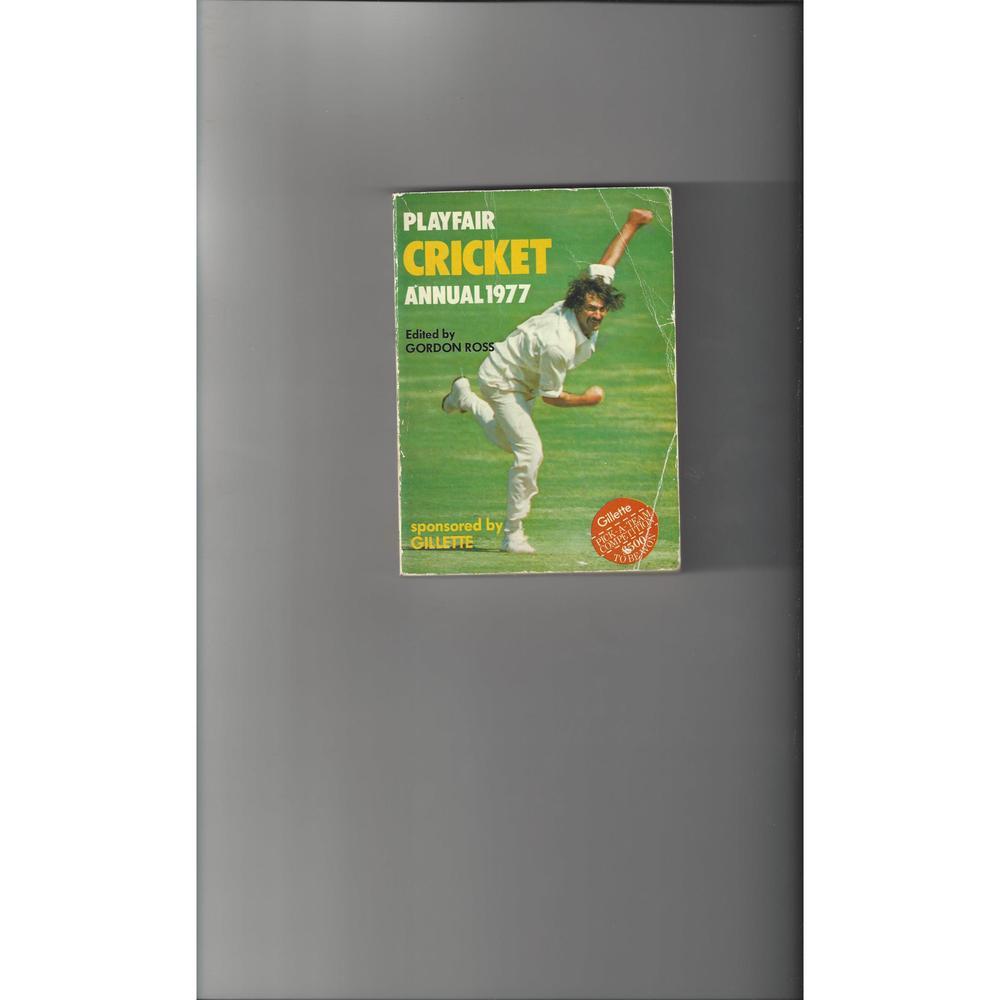 Playfair Cricket Annual 1977