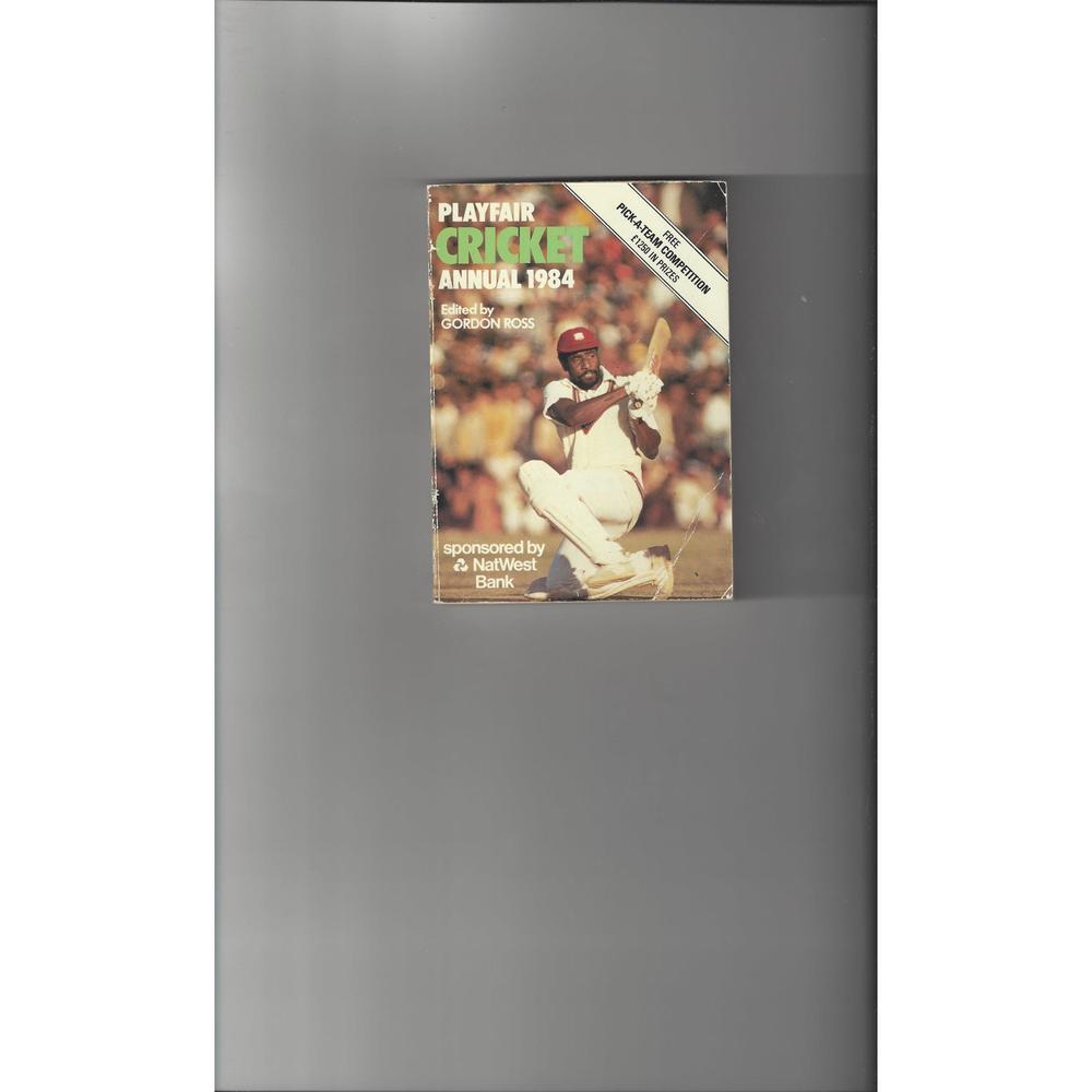 Playfair Cricket Annual 1984